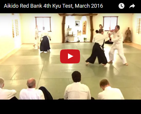 Video of Josie, Fiona & Andrew's 4th Kyu test